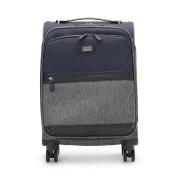 【50%OFF】バイカラー スーツケース S グレーマルチ 旅行用品 > スーツケース