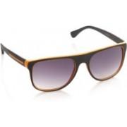 Joe Black Rectangular Sunglasses(Violet)