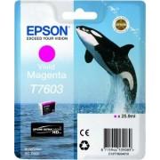 Tinteiro EPSON Magenta Vivo SC-P600-C13T76034010