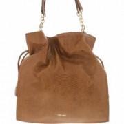 Geanta Nine West Dama Fuller Shoulder Bag Leather Messenger - Tobacco