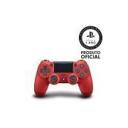 Controle Playstation Dualshock 4 Magma Red - PS4