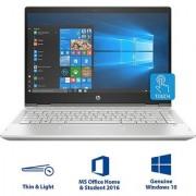 HP Pavilion x360 Core i3 8th Gen - (4 GB/1 TB HDD/8 GB SSD/Windows 10 Home) 14-cd0077TU 2 in 1 Laptop (14 inch Natural