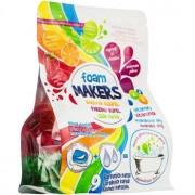 EP Line Foam Makers Espuma de baño en capsulas Strawberry, Orange, Lime 9 x 35 g