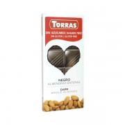 Ciocolata neagra migdale 150g