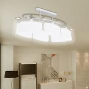 vidaXL 2 db mennyezeti lámpa ellipszoid üvegburával E14