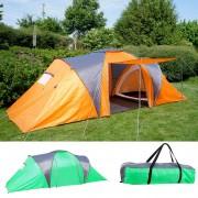 Campingzelt Loksa, 4-Mann Zelt Kuppelzelt Igluzelt Festival-Zelt, 4 Personen ~ Variantenangebot