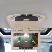 Auto Auto Dak 11 inch 800 * 480 Achteruitrijcamera PAL / NTSC Kleur Auto Monitor Bewakingscamera's Monitor, ondersteuning Reverse Automatische Scherm Functie