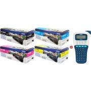 Brother value pack czarny / cyan / magenta / zólty oryginał TN-326 MCVP