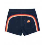 Sundek Rainbow Mid Length Swim Shorts Navy