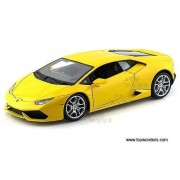 BBurago - Lamborghini Huracan LP 640-4 Hard Top (1/18 scale diecast model car, Yellow) 11038 diecast motorcycles and cars