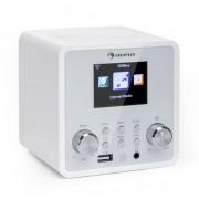 auna IR-120 Internetradio WLAN DNLA UPnP App-Control weiß