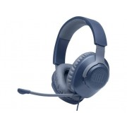 JBL Auriculares Gaming con cable JBL Quantum 100 (Over Ear - Micrófono - Azul)