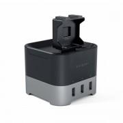 Satechi Smart Charging Stand - захранване с 3хUSB и поставка за смартфони, Apple Watch и Fitbit Blaze