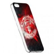 Husa de protectie Football Manchester United Apple iPhone 5 / 5S / SE rez. la uzura Silicon 233