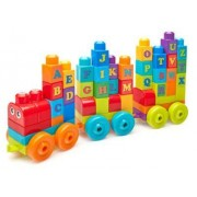 Fisher Price Mega Bloks Klocki pociąg ABC 60el DXH35 Fisher Price