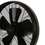 Breeze pedestal fan 122 cm, round base, black