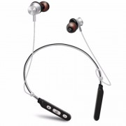 M8 Wireless Bluetooth V4.1 Neckband Sport Stereo Headset with Magnet Attraction - White