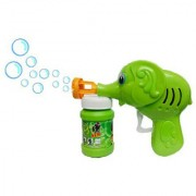 Yuvraj Creation Hand Pressing Bubble Making Toy Gun (Color and Design May Vary)