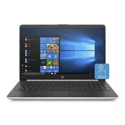 "HP computadora portátil de 15"" a 2019, Intel Dual-Core i3-8145U hasta 3,9 GHz, visualización táctil HD de 15,6 pulgadas Micro Edge, 12 GB DDR4, 256 GB SSD, cámara web HD Bluetooth 4.2 802.11ac USB-C HDMI Win 10 S-Natural Silver"