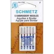 SCHMETZ hímzőtű szett, 75-90, 130/705 H-E