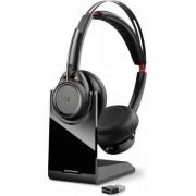 Casca Bluetooth Plantronics Voyager Focus UC B825 (Negru)