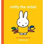 Miffy the Artist: Lift-the-Flap Book, Hardcover