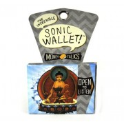 Buddha Sound Wallet - Plays Chants and Meditative Sounds Every Time You Open It - By The Unemployed Philosophers Guild