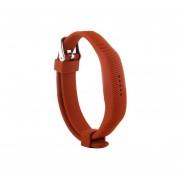 Para Fitbit Flex 2 Textura De Silicona Correa Reloj De Pulsera Oblicua, Longitud: 25 Cm (naranja)