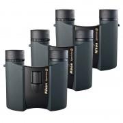 Nikon 8x25 Sportstar EX Svart 3-Pack