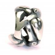 Trollbeads TAGBE-10070 bedel zilver letter K