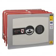Seif de incastrat in perete inchidere electronica,315x440x280mm, Planet Safe W.3228.E