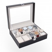 Cutie pentru ceasuri de mana cu 10 spatii