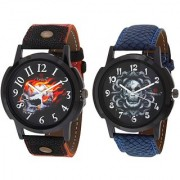 Evelyn Combo of 2 Men Watches EVE-382-385