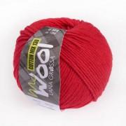Lana Grossa McWool Cotton Mix 130 uni von Lana Grossa, Rot
