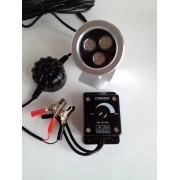 Gyttorp Åtelbelysning 3W LED DIMBAR