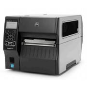 Zebra ZT420, 203 dpi, cutter, RTC, display, USB, RS232, Bluetooth, Ethernet, incl. netsnoer, excl. aansluitkabel