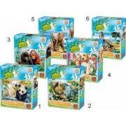 Puzzle Lumea animala 35 piese