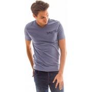 Heavy Tools T-Shirt pentru bărbați Mauri W17-234 Lightblue S