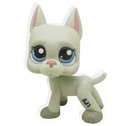 Littlest Pet Shop RARE Grey Great Dane Dog Puppy Blue Eyes Figure LPS #1688 /item# R6SG5EB-48Q20495
