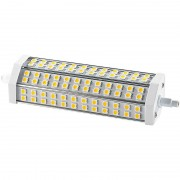Luminea LED-SMD-Lampe mit 72 High-Power-LEDs R7S 189mm, warmweiss