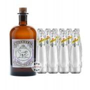 Black Forest Distillers Monkey 47 Dry Gin & 10 x Schweppes Dry Tonic Set (47 % Vol., 2,5 Liter)