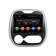 "Autoradio Android Renault Captur 2011-2016 GPS 9"" HD Mirrorlink USB SD"