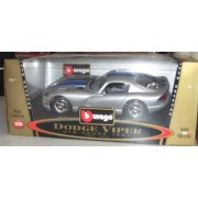 Bijoux Collection Dodge Viper GTS Coupe 1:24 SILVER