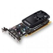 Видео карта NVIDIA Quadro P400, 2GB, PNY VCQP400-PB, PCI-E 3.0, GDDR5, 64-bit, 3x mDisplayPort