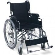sedia a rotelle / carrozzina pieghevole per adulti - disabili e anzian