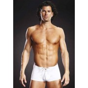 Boxer Lace Up Trunk Branco