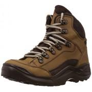 Franco Leone Men's Khakhi Leather Boots - 9 UK/India (43 EU)