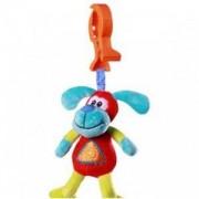 Бебешка плюшена играчка за количка - куче, 1140 Babyono, 9070070