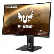 Asus Monitor Asus TUF VG27WQ Curved 27'P WQHD (2560x1440) 1ms, DP, HDMI, Gaming - Black