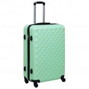 vidaXL mentazöld ABS keményfalú gurulós bőrönd